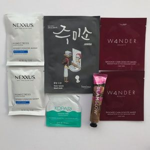 Bundle of Face and Hair Masks